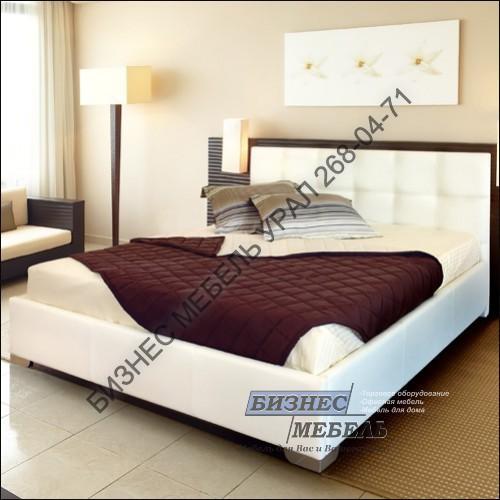 мягкая кровать варшава 160 21301720990h ткань 2 категории